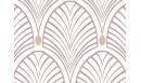 GATSBY BEIGE 80 CM Papiers peints adhésifs - Le Grand Cirque